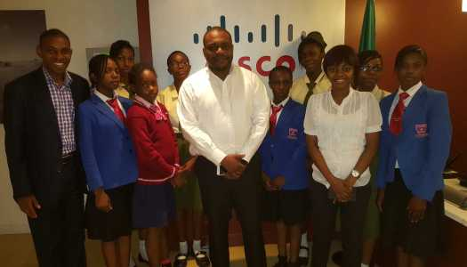 Cisco Nigeria hosts #GirlsPowerTech day in support of the annual United Nations International Girls in ICT day