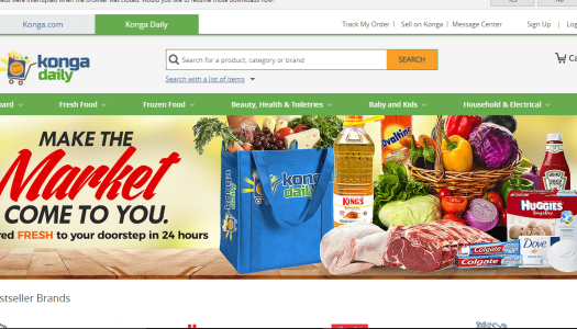 Konga Launches Groceries Shopping Category In Lagos