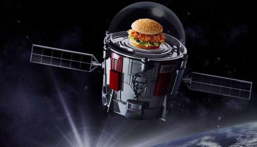 KFC's space-bound chicken sandwich didn't fly
