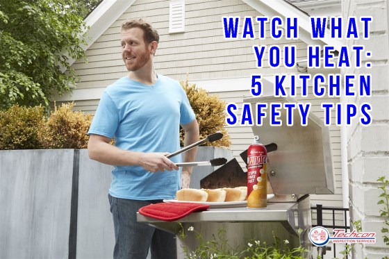 a-man-grilling-some-food-Kitchen Safety Tips