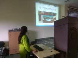 Renu Thapliya, Tech Counsellor at the Launch of Website