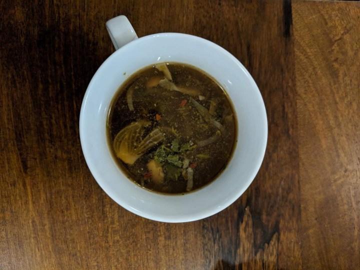 yummy mushroom carrot soup
