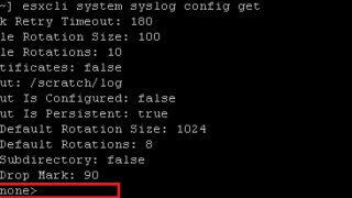 VMware vSphere 6 - ESXi Syslog and Network Dump collector configuration