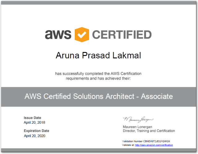How to Achieve AWS Certified Solution Architect - Associate ...