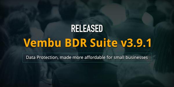Vembu BDR Suite v3.9.1 : Banner