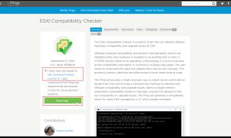 ESXi Compatibility Checker : Download