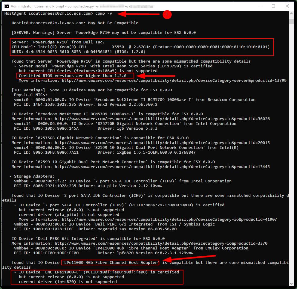 VMware Flings : ESXi Compatibility Checker Hands-On