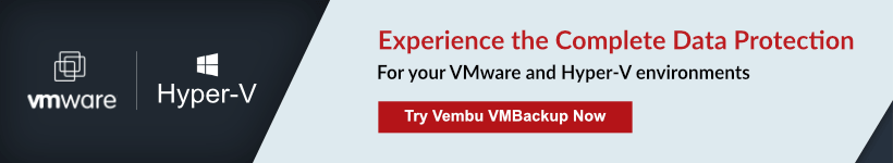 Vembu BDR Suite V4 : Download Now