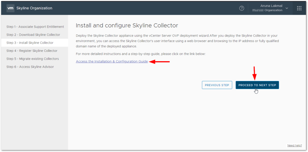 Token For VMware Skyline Collector : Install and Configuration Guide