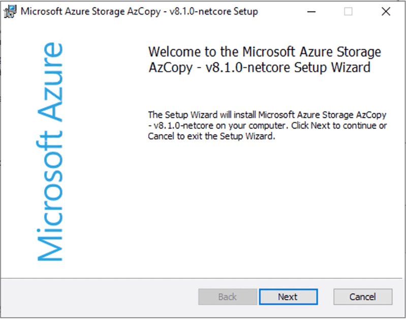 Use AzCopy To Move Files In Azure Cloud Storage