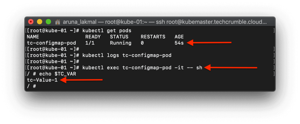 Configure Kubernetes PODs To Use ConfigMap view env