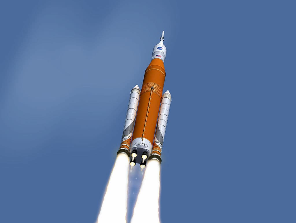NASA confirms in cover that the first launch of the SLS is leaving by 2021