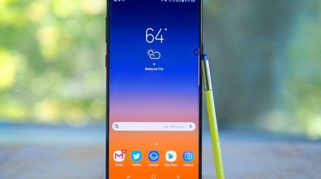 "Samsung sending strange notification with a ""1"""