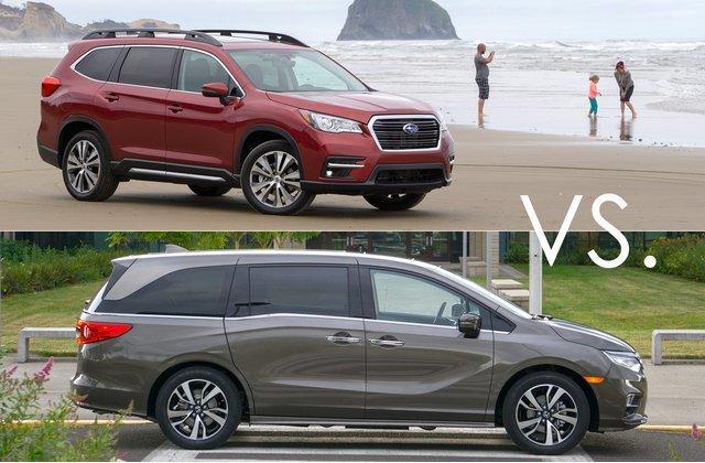 Minivans VS SUVs.