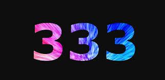 Does 333 mean half evil?