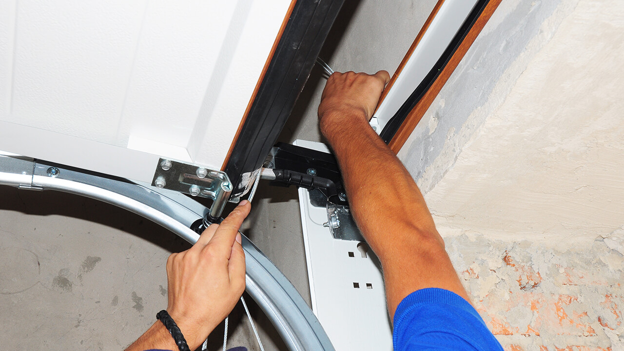 How to repair Garage Door Jerks when opening