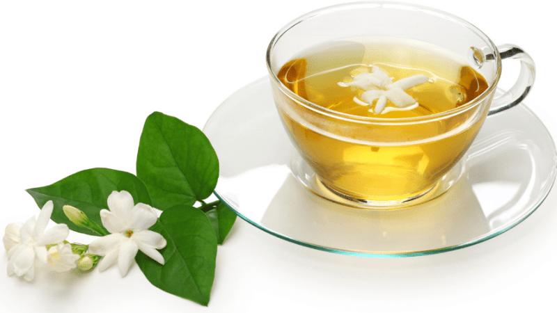 Drinking Jasmine Tea