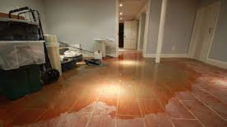 Repair of a house after flooding with water quickly