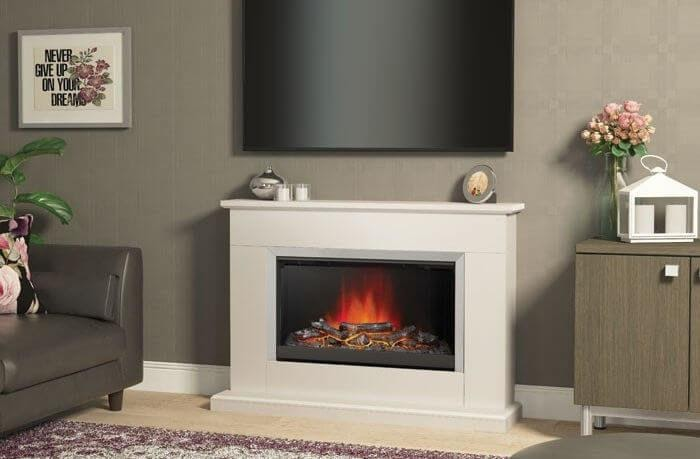 The Plug-in And Electric Fireplaces You Can Install In Minutes!