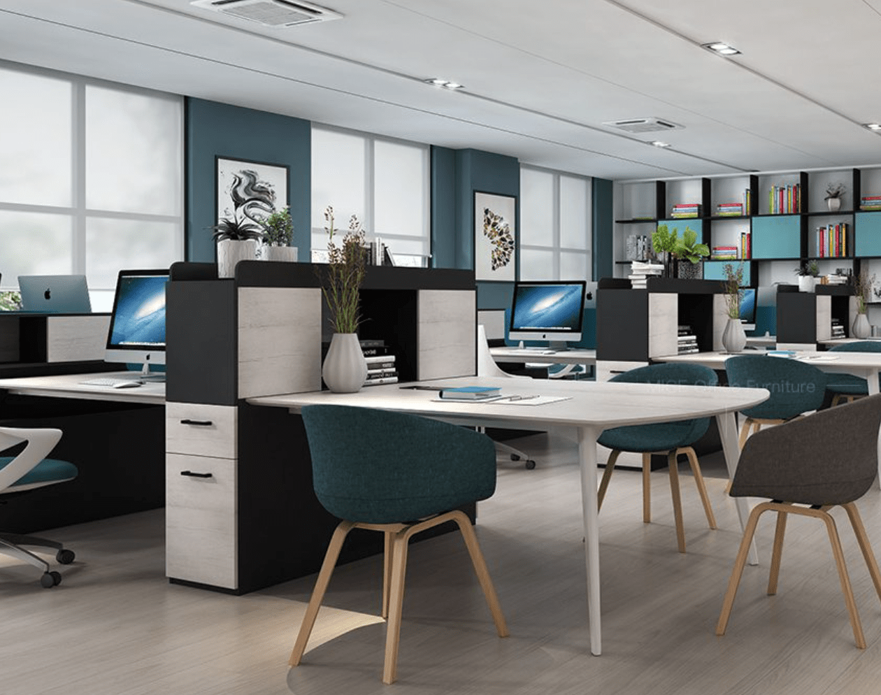 What are the different factors to consider when purchasing office furniture?
