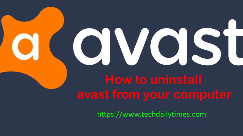 How to uninstall Avast