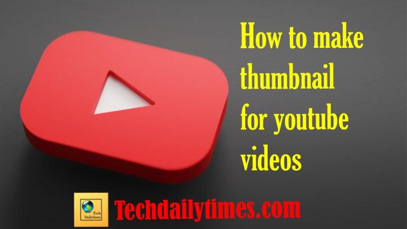 thumbnail for YouTube