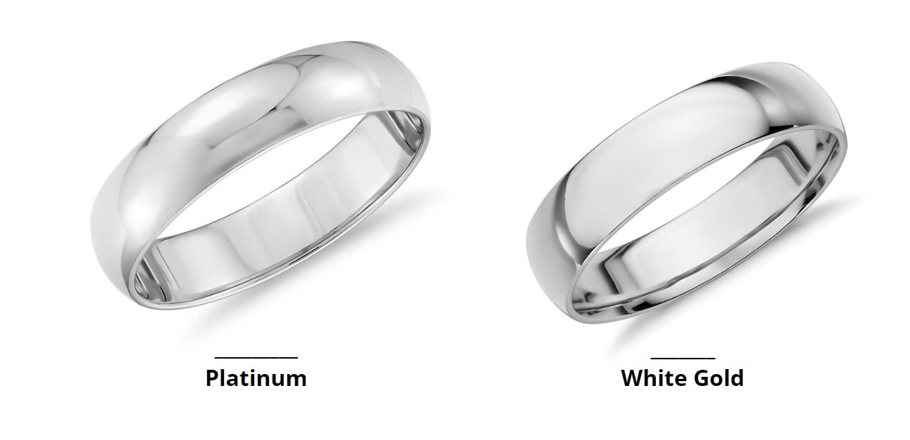 Some Key Differences between White Gold Vs Platinum to Consider Well Before Purchasing
