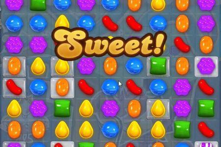 candy crush game screenshot