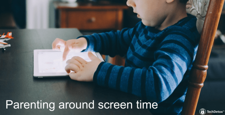 Parenting strategies screen time techdetoxbox.com