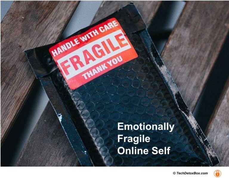 Emotionally fragile online self techdetoxbox.com
