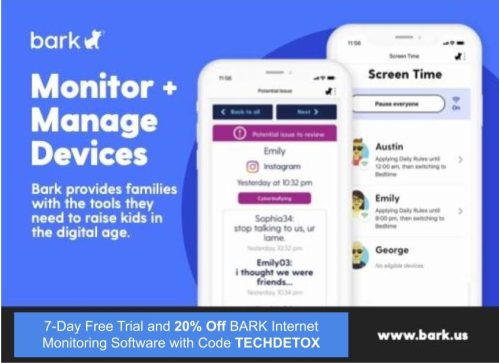 bark discount techdetox