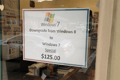 "Now all of these other suggestions have been a bit of fun - but what if you want to <em>really</em> experience true fear? Then try switching to a Windows 8 computer.</p> <p>No cheating – no dual booting with Linux, no downgrading to Windows 7, no throwing it "" src=""//www.techdigest.tv/gallery/2013/10/5_techie_ways_t/windows8.png"" width=""450″ height=""253″ class=""mt-image-center"" style=""text-align: center; display: block; margin: 0 auto 20px;"" /></p> <p>Ah – here's the other thing. Remember when Apple announced that their latest version of MacOS, Mavericks, would be free to download? Microsoft do, and a shiver runs down their spine at the very mention of it. For Microsoft, selling operating systems is lucrative business – not only selling them for £100 a time to individual customers, but licensing Windows to big corporations was their cash cow for many years.<br /> Unfortunately, Apple's shift means that people will be asking ""Why?"" when asked to pay for the next version of Windows. Signs point towards Microsoft relenting and going along with the free model too – Windows 8.1, which was released recently was published as a free download. Which is great if you want lots of people to download it – but not so much if you want to make money.</p> <p>There are longer term benefits on doing it this way though. By preventing fragmentation and ensuring as many people are running the latest versions of the operation system, it should boost compatibility with newer kit, and also make it easier for developers, who rather than having to make sure their latest app works with an ancient version of Windows, can rest assured that a high proportion of users will be up to date.</p> <p>For Nadella, figuring out which route to go down is going to be important. It's a question of sacrificing revenue for improving the Microsoft ecosystem.</p> <p><strong>Stop people hating Windows 8</strong></p> <p><img alt="