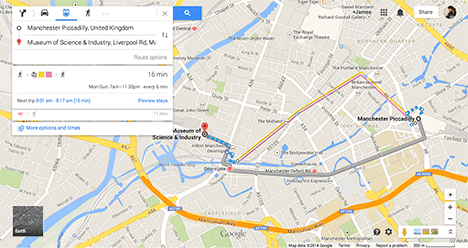 Google Maps Massively Improves Uk Public Transport Directions