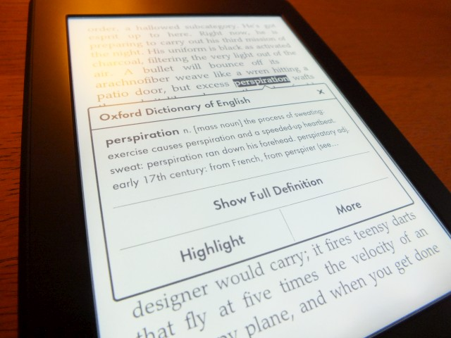 Kindle Screen Blotches
