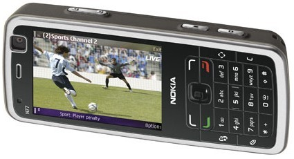 Nokia N77 mobile TV