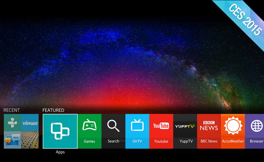 Samsung switching to running Tizen OS on its smart TVs