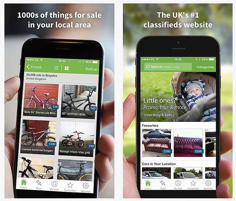 gumtree-iphone-app