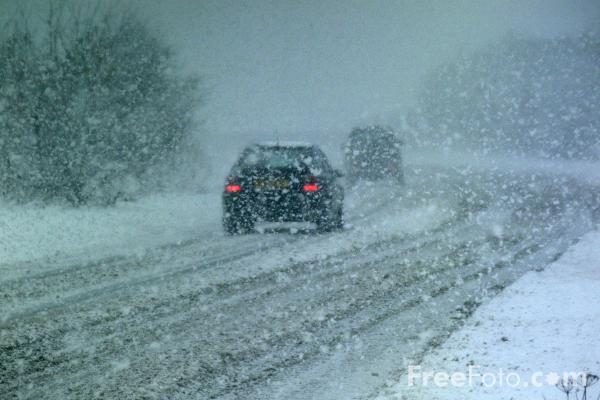 Check your car over before driving in the snow and don't forget your emergency supplies