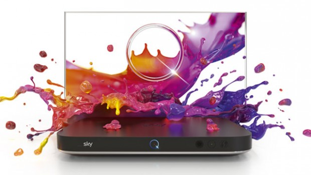 The Sky Q Silver features a whopping 12 tuners