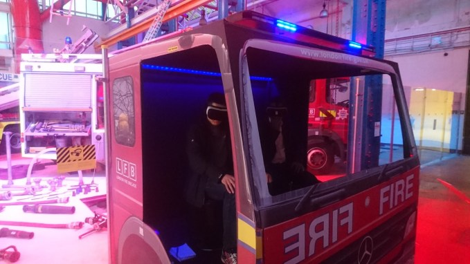 a-new-bbc-vr-film-depicting-a-terrifying-xmas-day-fire-was-given-its-uk-premiere-today-at-the-london-fire-brigades-new-pop-up-museum-in-lambeth