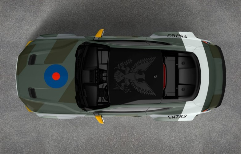 - 2018MY S550 MUSTANG AIRVENTURE RAF RTR TOP preview 1024x656 - Steve McQueen's Ford Mustang GT from Bullitt makes European debut at Goodwood FOS
