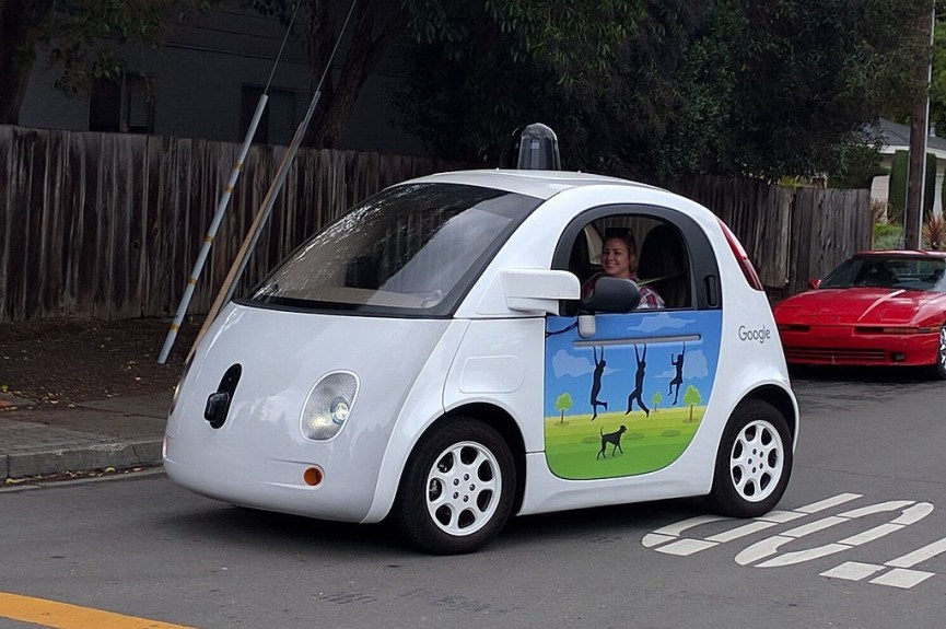 - Googledriverlesscar 1024x680 - 10 surprising ways that driverless cars could change the world