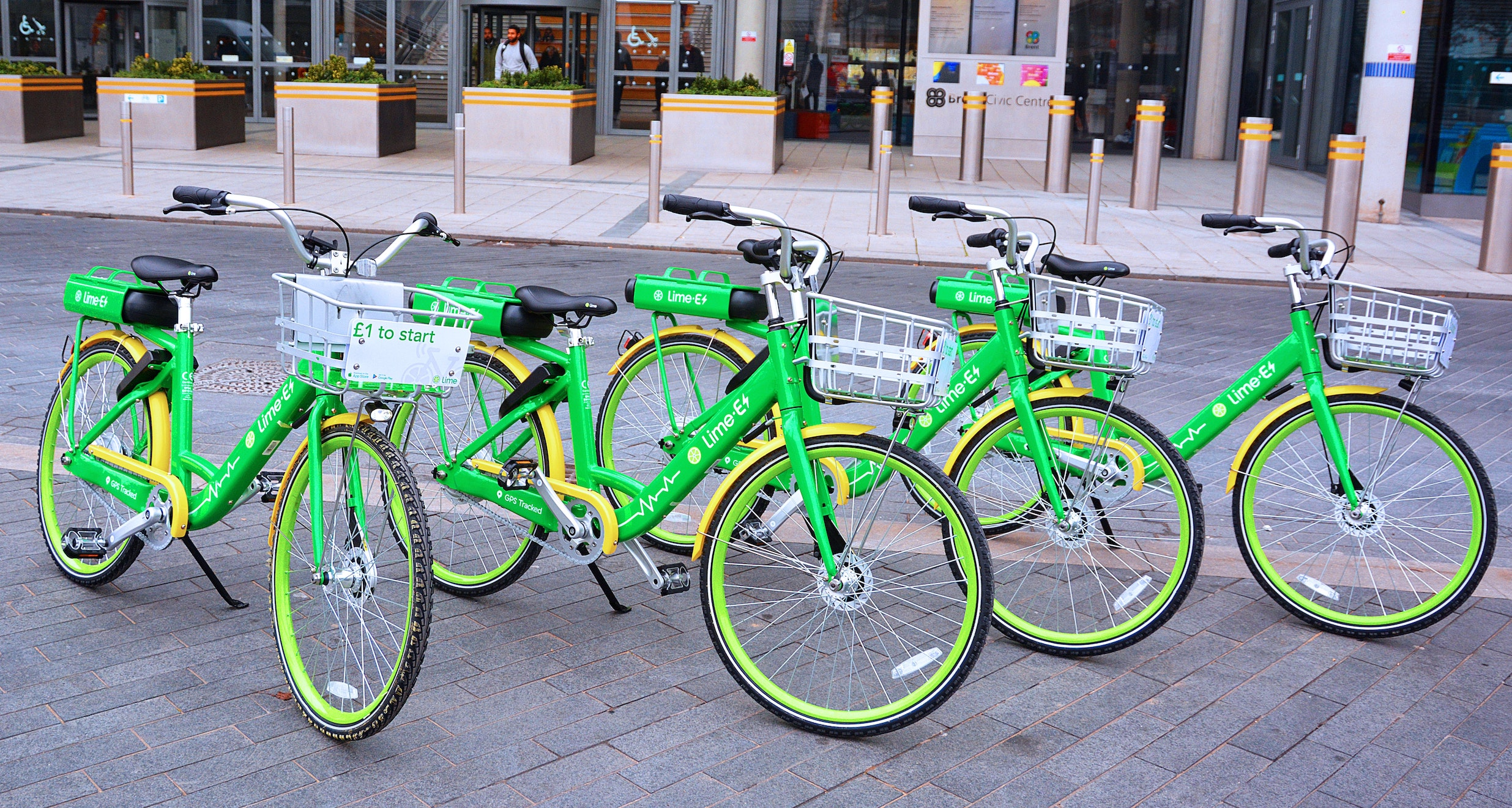 Lime Bikes in London: One Hot, Green