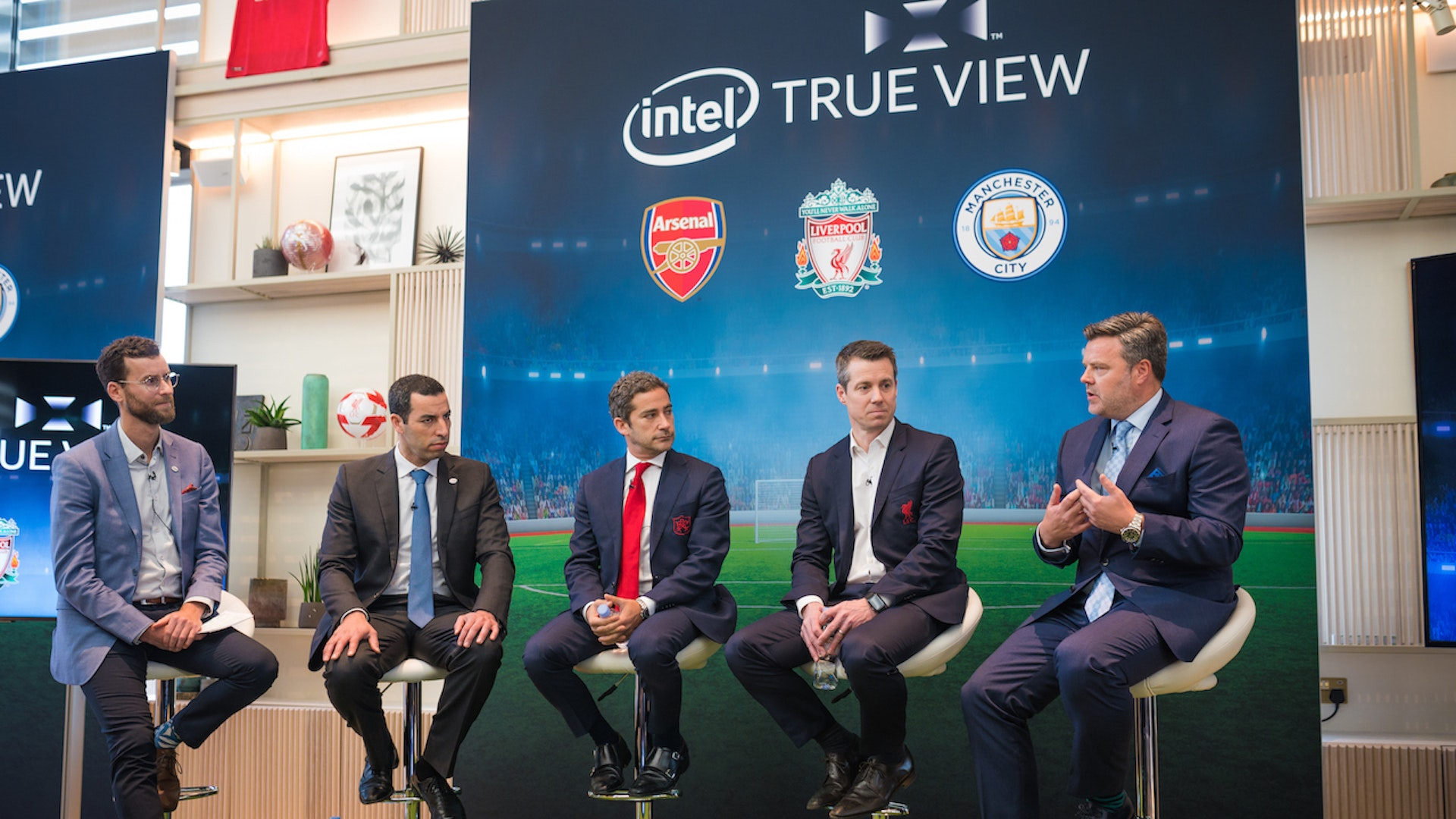 Premier League Clubs: Three Premier League Clubs To Use Intel 3D 360-degree