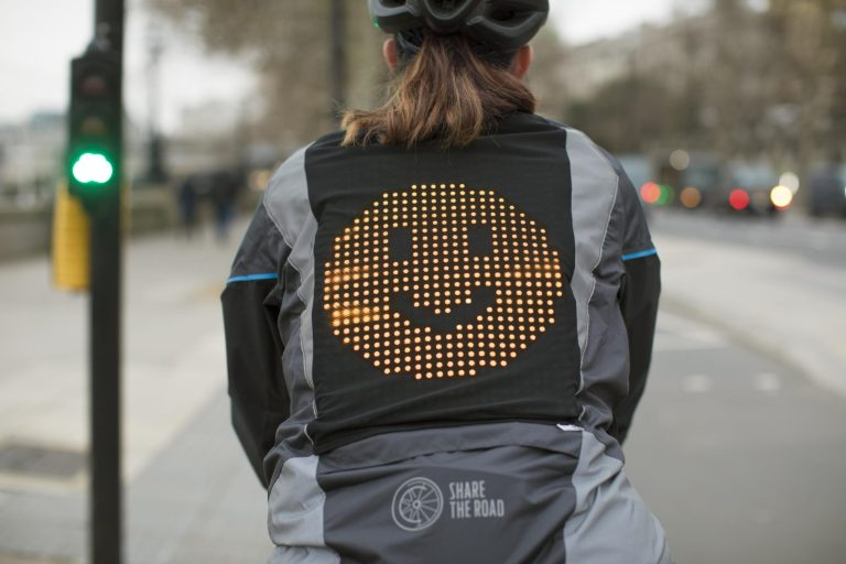 Ford creates prototype 'Emoji Jacket' for cyclists