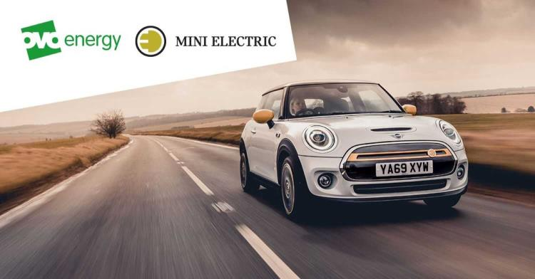 Mini Electric partners with OVO energy for free miles