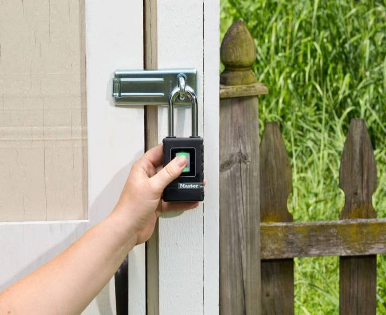 Master Lock introduces outdoor biometric padlock