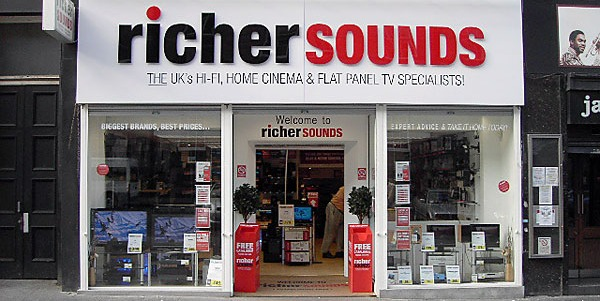 Richer Sounds rated top tech retailer in Which? survey