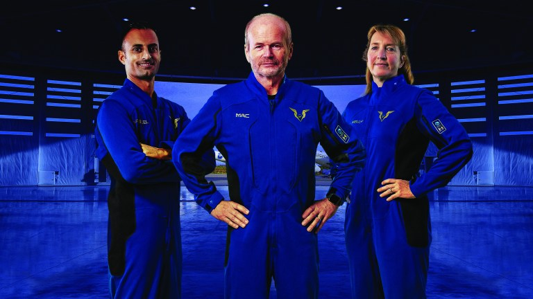 Virgin Galactic unveils Under Armour spacesuits