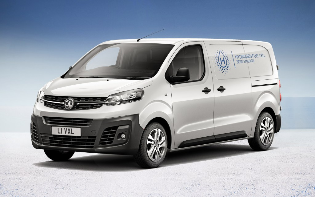 Vauxhall unveils hydrogen-powered Vivaro-e commercial vehicle